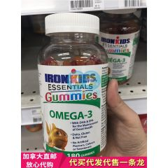 IronKids 小铁人 鱼油 180粒 Gummies, Omega-3 (180 ea) Superstore