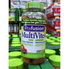 Vita Fusion 成人复合 维生素 软糖 Adult Multivitamin 250 Gummy Chews