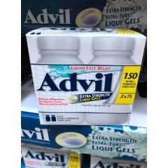 Advil RS Advil Liqui Gels150 tablets 缓解疼痛400毫克