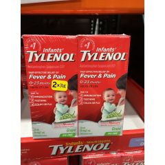 Tylenol 泰诺 Infant Drops 2*24ml