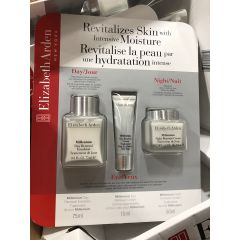 (包邮价) Elizabeth Arden 雅顿三件套 Revitalizes Skin with Intensive Moisture 75ml,15ml,50ml