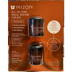 (包邮价) Mizon 蜗牛面霜两盒装 All in one Snail Repair Cream 2Pack 175ml*2