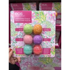 EOS 伊欧诗 唇膏球 Lasting Hydration Lip Collection 6 pack