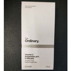The Ordinary 维他命c 美白精华乳液 Vitamin C Suspension 30% in Silicone 30ml