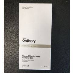 The Ordinary 温和 乳酸 去角质 精华 Natural Moisturizing Factors +HA 30ml