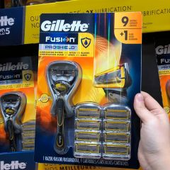 Gillette 吉列 剃须刀 1 Razor, 9 Cartridges