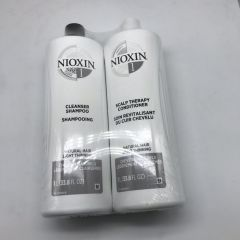 NIOXIN Cleanser Shampoo and Scalp Therapy Conditioner 1L*2