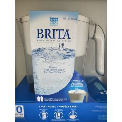 BRITA 碧然德 净水壶 Water Filtration Cleaner Great-Tasting Water 1 Pitcher 2 Filters 10 Cup