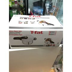 (包邮价) T-FAL Stainless Steel 304 Pressure Cooker 2 Levels 不锈钢双层压力煲