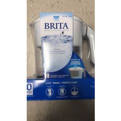 BRITA 碧然德 净水壶 Water Filtration Cleaner Great-Tasting Water 1 Pitcher 2 Filters 10 Cup White