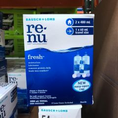 Renu Fresh 眼药水 2*480ml 1*60ml Travel Size