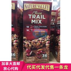 Nature Valley 天然山谷 燕麦混合浆果 能量棒 饼干 Trail Mix Bar Variety 36x35g