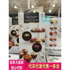 BY 蛋糕杯 巧克力比利时特产 24块装 Chococlelice Cupcake Chocolates Belgian Specialties 24 Piece 450g