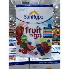 Sunrype 儿童零食 水果条 Fruit to Go 72 pack