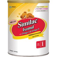 (包邮价) Similac 雅培 一段 奶粉 Isomil With Omega-3 & Omega-6 Step 1 Powder 800g