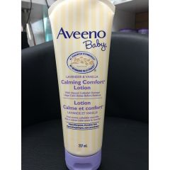Aveeno 艾维诺 婴儿熏衣草,香草味舒缓燕麦配方 乳液   Baby Lavender& Vanilla Calming Comfort Lotion with Natural Colloidal Oatmeal 227ml