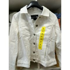 (包邮价) Calvin Klein 夹克 Denim Jacket White