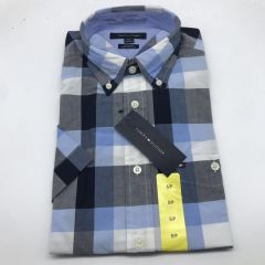 Tommy Hilfiger 衬衣 Classic Fit shirt, blue and grey