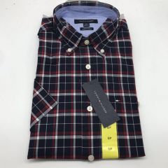 Tommy Hilfiger 衬衣 Classic Fit shirt, grey and red