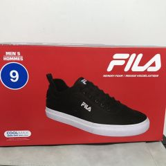 FILA 男士 鞋子 Men's Shoes Black/White size 9