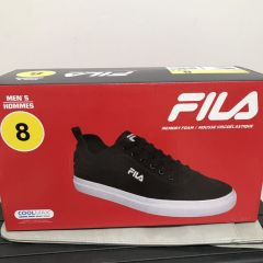 FILA 男士 鞋子 Men's Shoes Black/White size 8